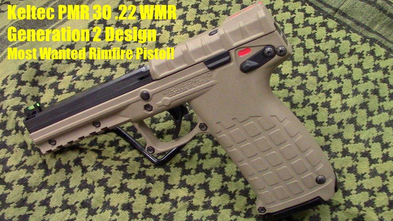 keltec pmr30 22 magnum pistol generation 2 updated features youtube