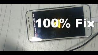 How to Fix Brick Error custom binary blocked by frp All Samsung Mobiles