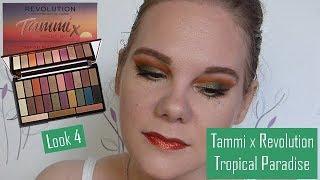 [5 jours 1 palette : Tammi x Revolution] LOOK 4 + blabla pub youtube !