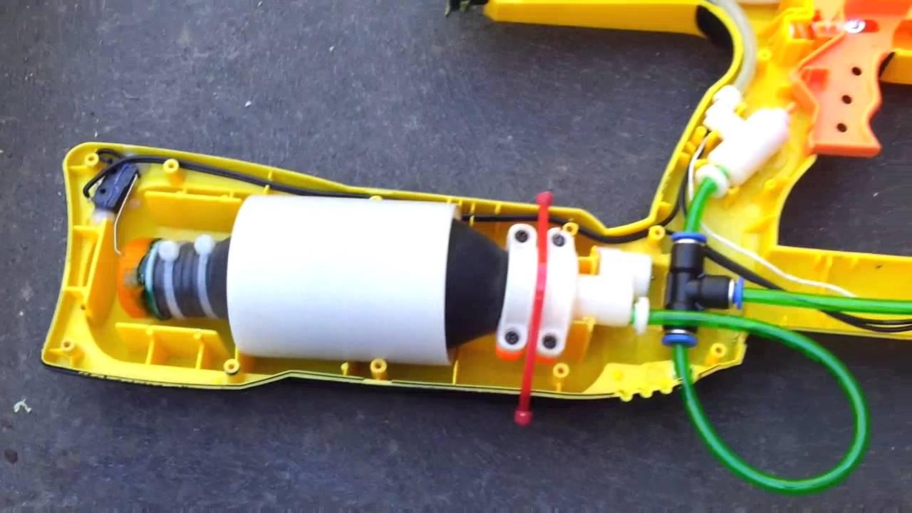 CO2 Powered Nerf Magstrike!