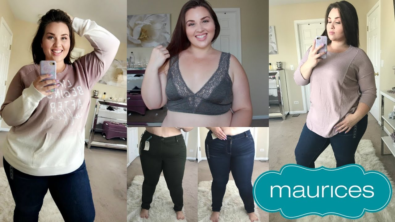 f62882bc22 Maurices Try-On Haul |Plus Size Fashion| - YouTube