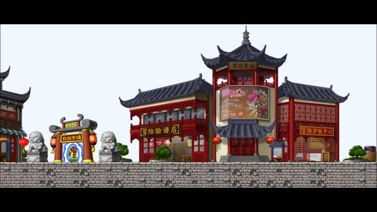 [MapleStory BGM] Yu Garden: Yuyuan