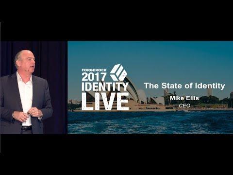 ForgeRock CEO Keynote - Identity Live 2017 - Sydney