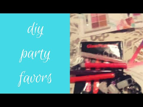 HOW TO MAKE DIY DOLLAR TREE KIDS PARTY FAVORS!