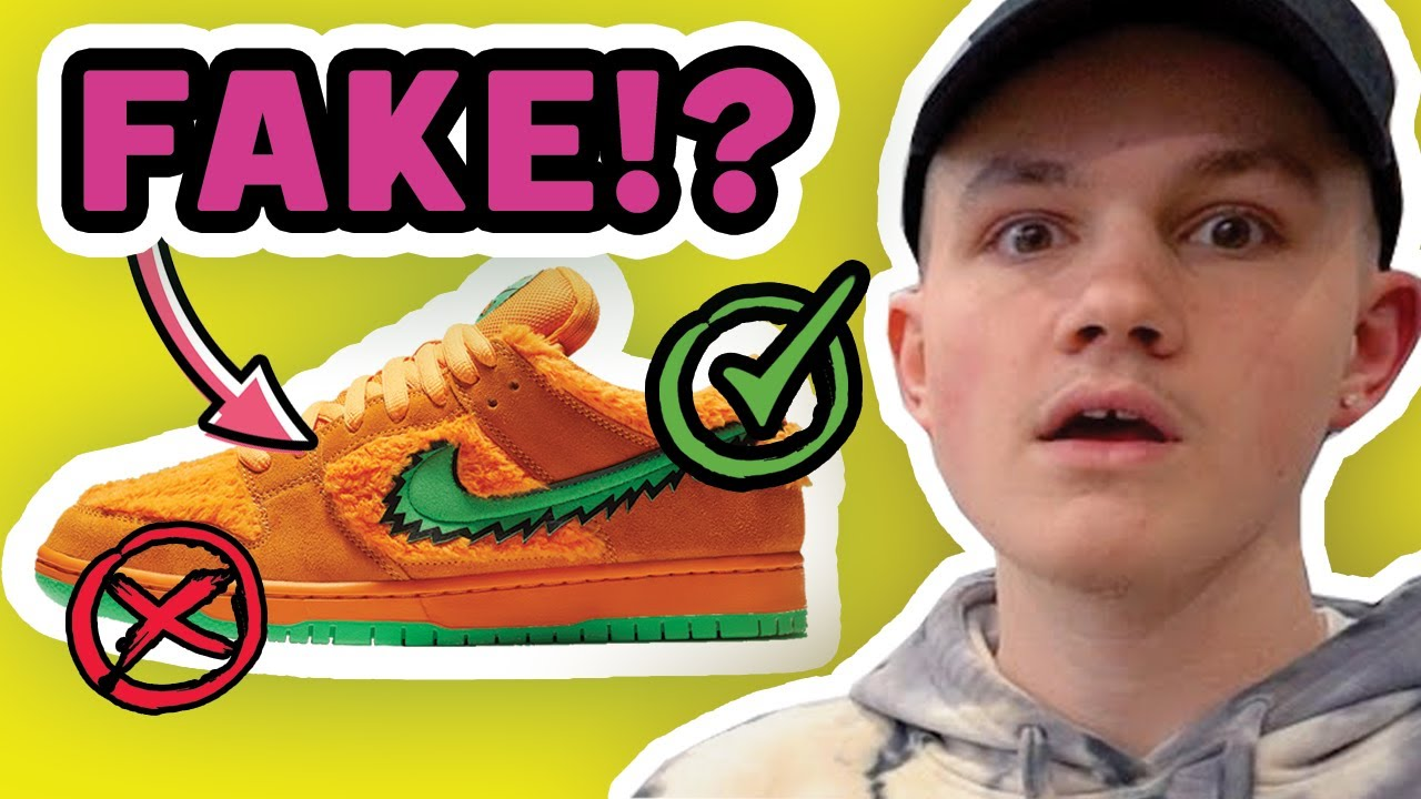 INSANE!! Guy with Fake Nike SB Grateful Dead Almost Got Me!