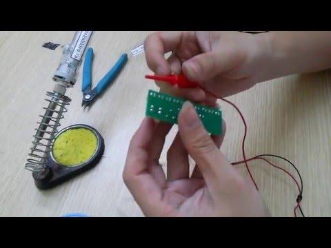 Hướng Dẫn Sử Dụng Mạch Nháy Theo Nhạc LM3915 - Vina Electronics