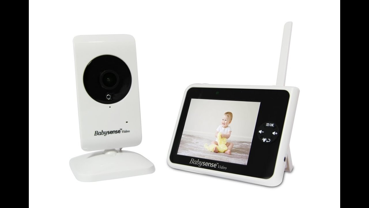 Babysense Video Baby Monitor V35