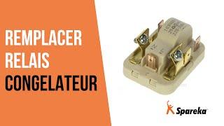Comment réparer le congélateur - Remplacer le relais ?
