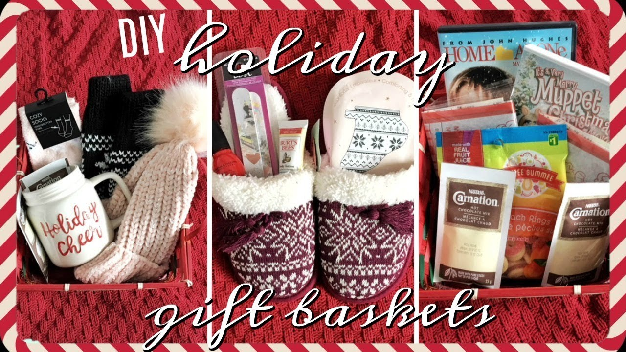 5 CHEAP holiday gift baskets! | Inexpensive Christmas gift ideas ...