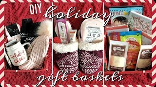 5 Cheap Holiday Gift Baskets!   Inexpensive Christmas Gift Ideas!