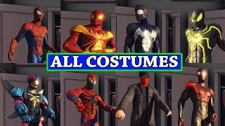 The Amazing Spider-man 2 All Costumes + DLC