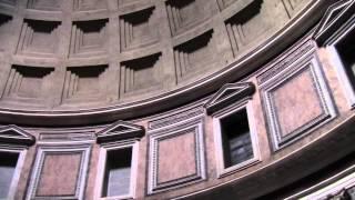 Пантеон, Рим(Всего две минуты в Пантеоне передают величие этого древнего сооружения и удивительную атмосферу туристич..., 2012-04-14T23:51:38.000Z)