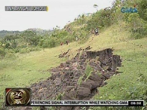 24Oras: Bagong fault sa Bohol na pinagmulan ng malakas na lindol, natunton