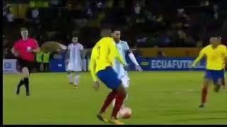 Ecuador VS Argentina (1-3) Lionel Messi goal Hat Trick World Cup Qualifiers 11102017