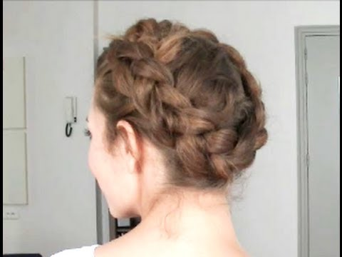Full download coiffure tresse couronne - Coiffure tresse couronne ...