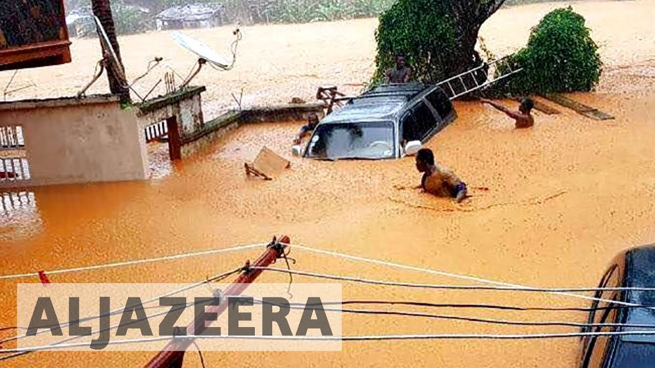 Sierra Leone appeals for 'urgent' aid for deadly mudslide disaster