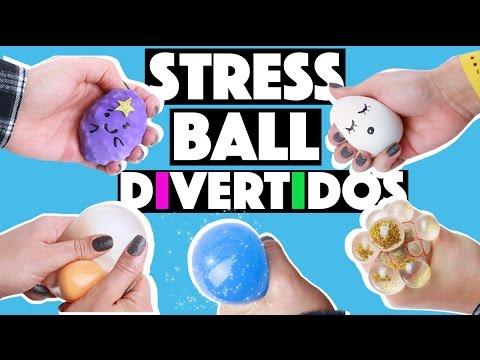 IDEIAS INCRÍVEIS PARA FAZER EM CASA #2 - BOLINHAS ANTI STRESS! (STRESS BALL)   KIM ROSACUCA