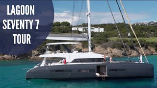 Lagoon SEVENTY 7 Catamaran | Catamaran Guru Walkthrough & Sea Trial