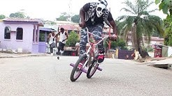 AFRO ATAAYI BMX RIDE AND DANCE VIDEO BY YKD yewo krom dancers