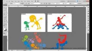 Создание и изменение страниц в Adobe illustrator