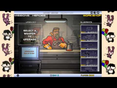 Strike Force Heroes 3 с Сибирским Леммингом