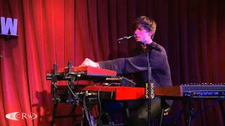 "James Blake performing ""Overgrown"" Live at KCRW"