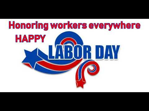Labor Day Greeting & Inspiring Quotes Free Honor Labor ...
