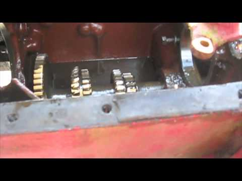 Farmall Transmission all Disassembled - YouTube