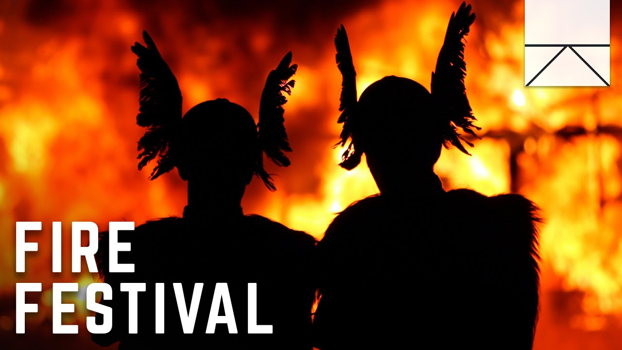 Scotland's Fire Festival For Vikings