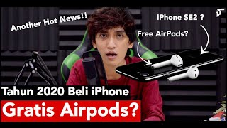Beli iPhone SE 2 Akan Gratis AirPods? what-whatan this...