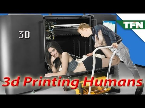 3D Printing Humans?!