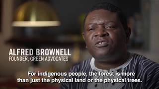 Alfred Brownell, 2019 Goldman Environmental Prize, Africa