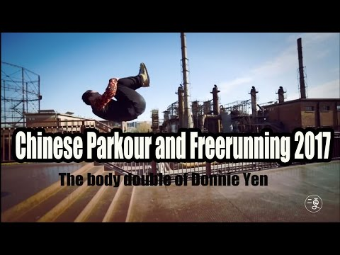 [Sport] Chinese Parkour and Freerunning 2017 - The body double of Donnie Yen | More China