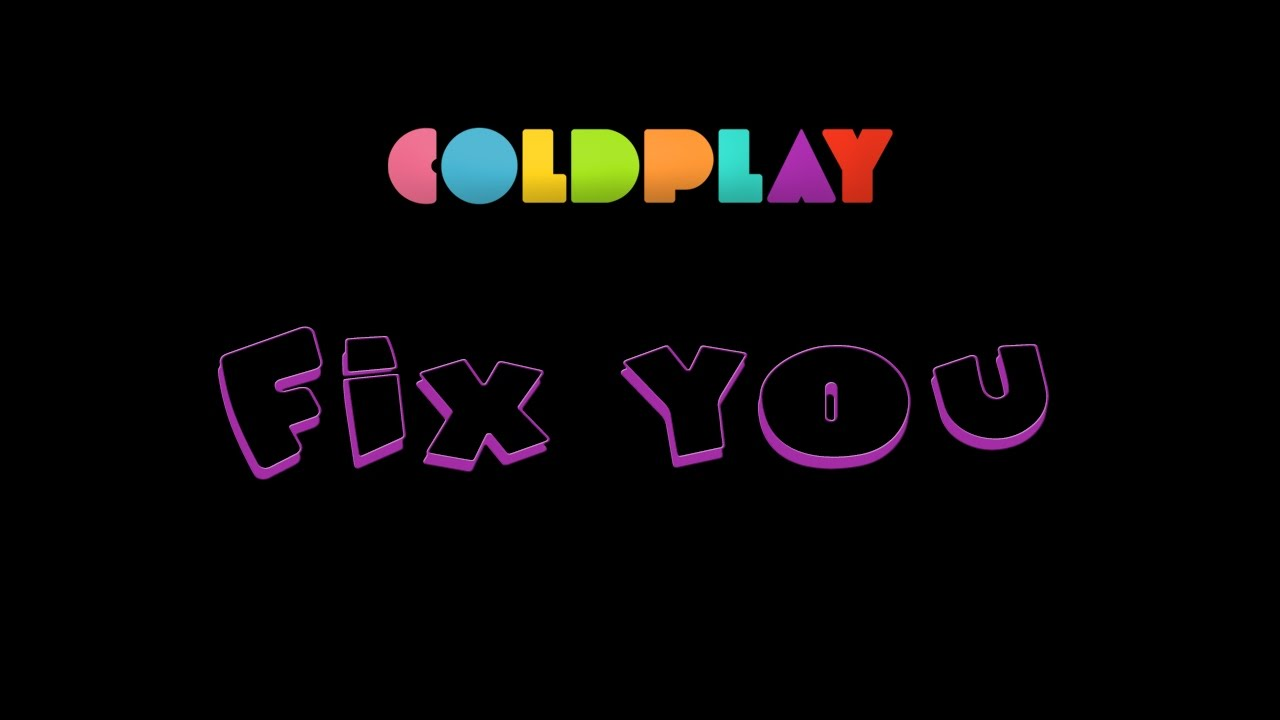 how to play fix you by coldplay on guitar