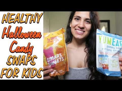 HEALTHY HALLOWEEN CANDY SWAPS FOR KIDS