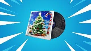 Fortnite FESTIVE Lobby Music - Bass Boosted (4K ULTRA HD)