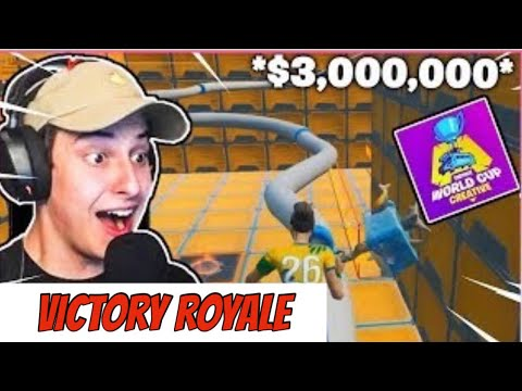 Cizzors *Wins* The Creative Worldcup Deathrun With *Suezhoo* !!!