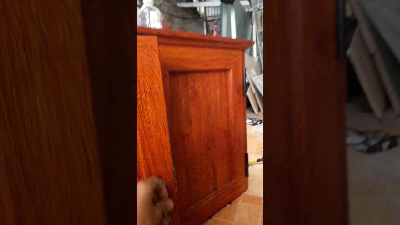 cách làm tủ bếp nhôm hệ việt pháp