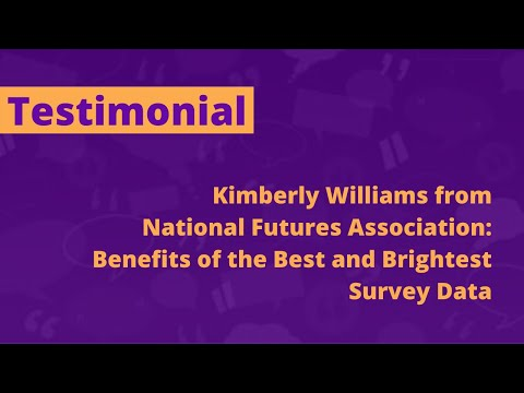 Kimberly Williams of National Futures Association