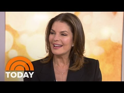 Sela Ward: I Love Working With Nick Nolte On New  'Graves'  TODAY
