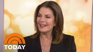 Sela Ward: I Love Working With Nick Nolte On New Show 'Graves' | TODAY