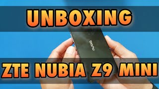 Unboxing ZTE Nubia Z9 mini en español