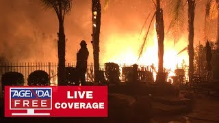 Woolsey Fire Rages Toward Malibu - LIVE CALIFORNIA FIRES COVERAGE