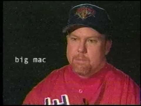 Mark McGwire Jose Canseco Home Run Challenge 2000-2001
