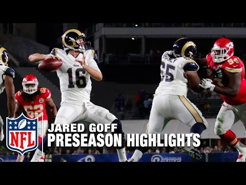 Jared Goff Preseason Full Highlights | Los Angeles Rams | NFL