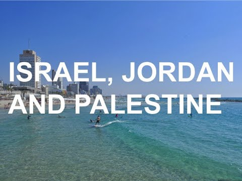 Last minute summer trip to Israel, Palestine and Jordan - Travel Video
