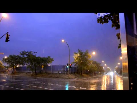 PRETTY GOOD THUNDERSTORM IN MONTREAL QC 09/07/15