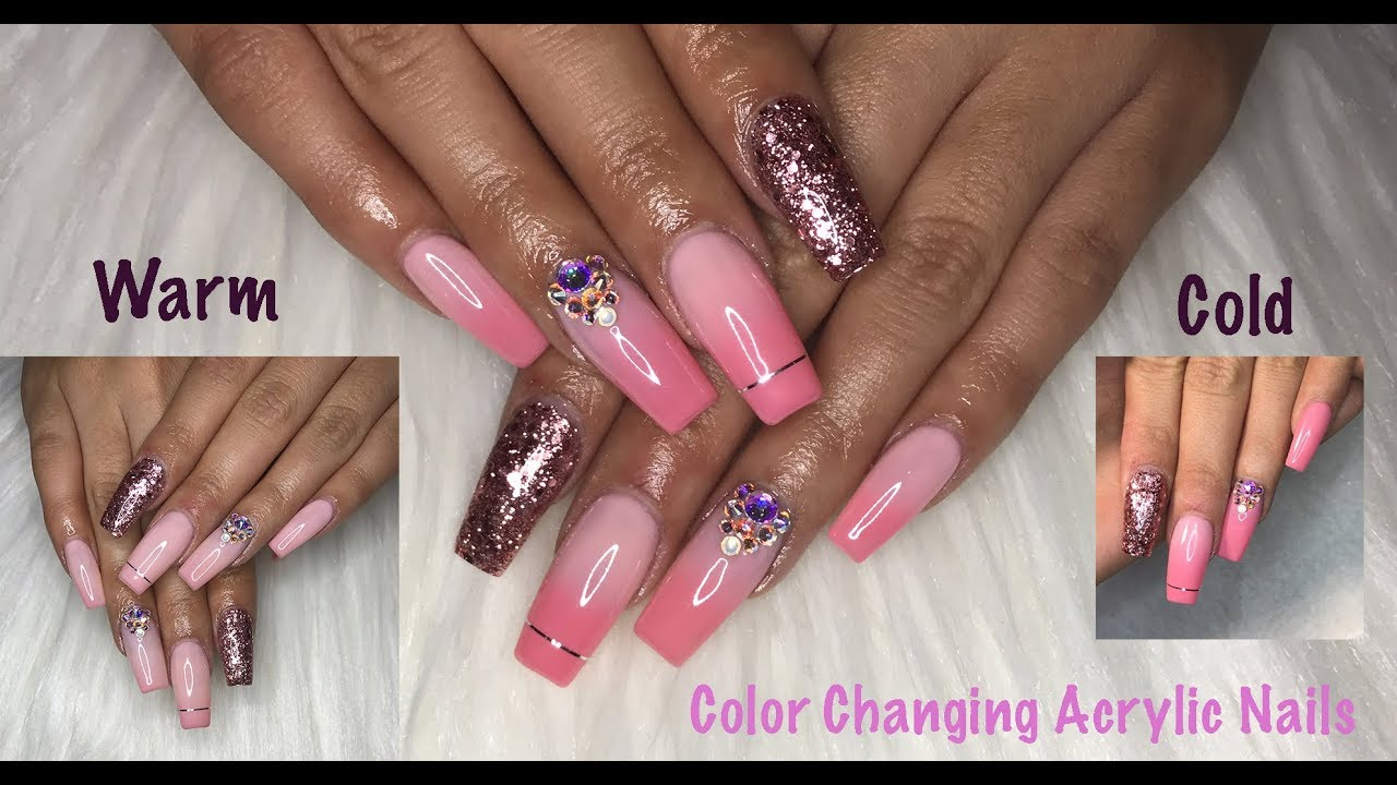 How To Color Changing Acrylic Nails