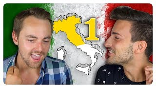 A foreigner dealing with the many accents of italy... alan tries to speak some these dialects: lombard, venetian, romagnolo, tuscan, and roman. will he su...