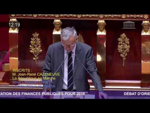 Mon intervention en séance publique lors du débat d'orientation des finances publiques pour 2018